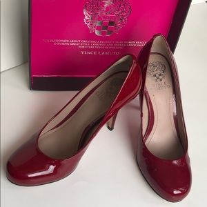 Vince Camuto Red Pumps